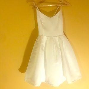 Forever 21 short white homecoming or prom dress